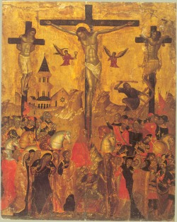 Icon of Christ's Crucifixion
