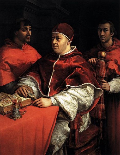 1518 portrait of Pope Leo X