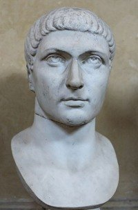 Constantine the Great bust