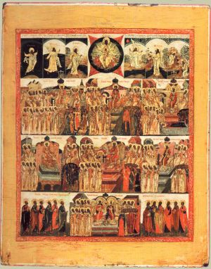 Depiction of the ecumenical councils