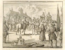 old drawing of Anabaptists