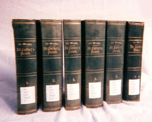De Wette, a collection of Martin Luther's letters