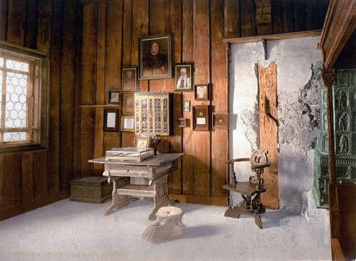 Martin Luther's room in the Wartburg Castle