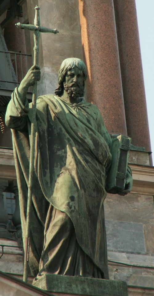The Apostle Philip as represented at St. Isaac Cathedral in St. Petersburg, Russia