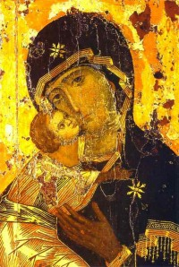 """Icon of """"Our Lady of Vladimir"""""""