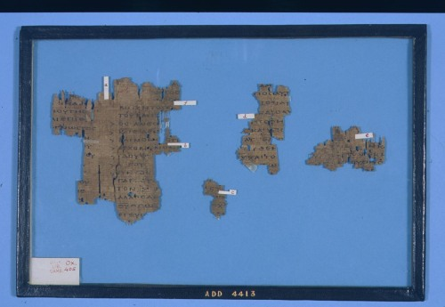 Papyrus Oxyrhynchus 405; an A.D. 200 manuscript from Irenaeus