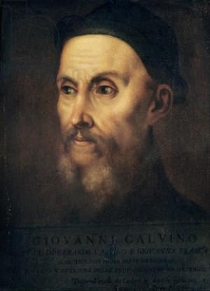 John Calvin portrait by Titian