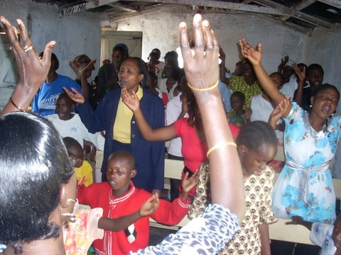 Worship in Nakuru, Kenya