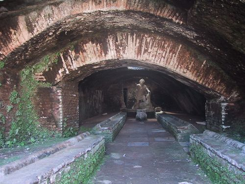 Bath of Mithras near Ostia, Italy