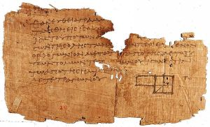 Oxyrhynchus papyrus of Euclid's Elements