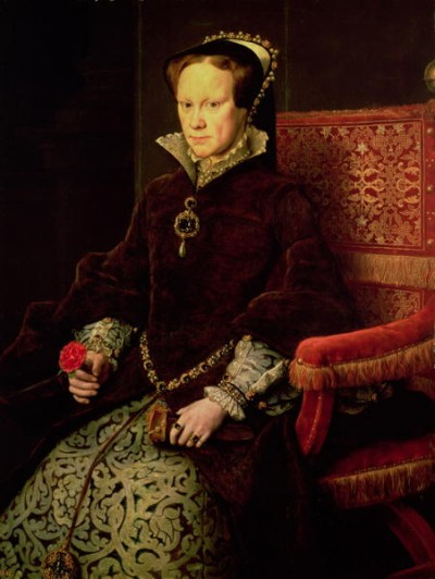 Queen Mary I of England, also known as Bloody Mary
