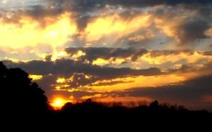 sunset, photo mine