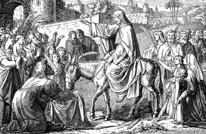 Jesus' triumphal entry into Jerusalem