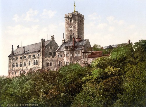 Wartburg Castle around 1900