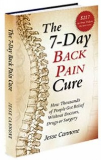 7-Day Back Pain Cure book
