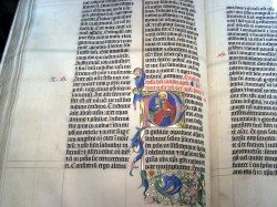 Latin Bible from 1407