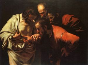 The Incredulity of Saint Thomas by Caravaggio