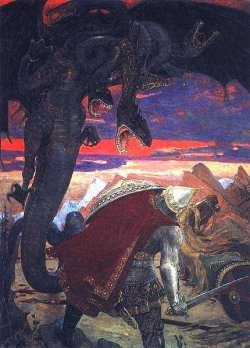Zmei Gorinich dragon painting