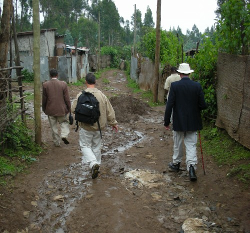 footpath in Ethiopia