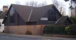 A Jehovah's Witness Kingdom Hall in England