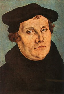 Martin Luther, the great Protestant Reformer