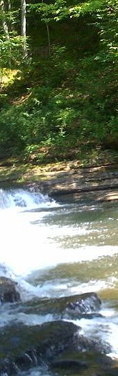Shoal creek at Davy Crockett State Park in Lawrenceburg, TN