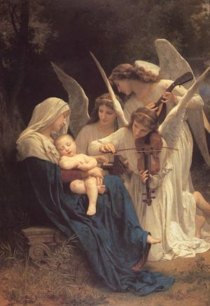 Song of the Angels by William Adolphe Bourguereau